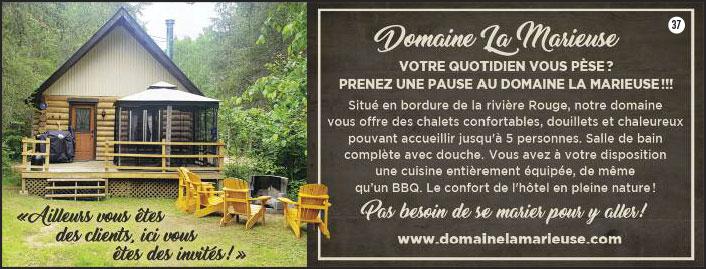 Hébergement dans le Guide touristiques des Hautes-Laurentides