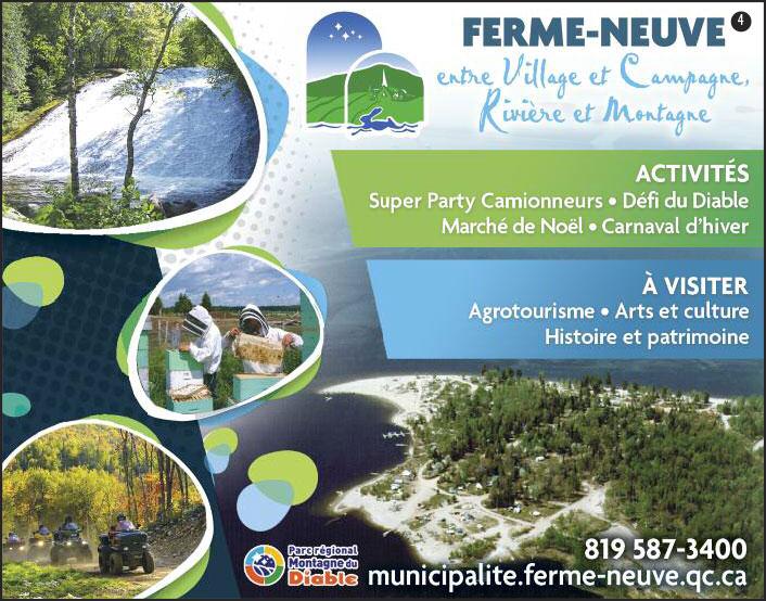 Municipalité dans les Hautes-Laurentides